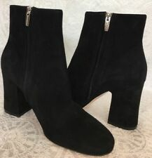 Gianvito Rossi Ankle Boot Black Margaux Suede  New Size 40