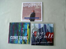 RUSSELL OLIVER STONE job lot of 3 promo CDs Groove Aspects Come To Me