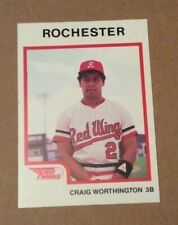 1987 Pro Cards   Craig Worthington  Rochester Red Wings  Orioles