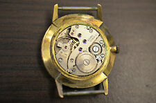 Watch CORNAVIN vintage Cal AROGNO 120  - works -  for parts !
