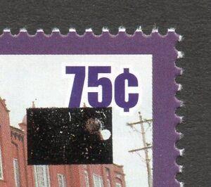 Trinidad & Tobago #917 $1 overprint shift $1 on 75c Library MNH