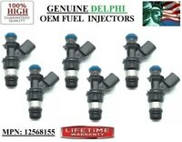 OEM DELPHI Fuel Injector  12586557 FOR 05-07 CHEVROLET MALIBU 3.5L V6  SET OF 6