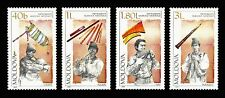 Moldova 2001 National Musical Instruments 4 MNH stamps