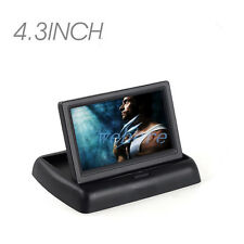 """Newest 4.3"""" TFT LCD Foldable Car Reverse Rear View Monitor for Car Backup camera"""