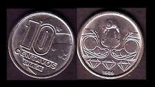 ★★ BRESIL ● 10 CENTAVOS 1989 ● E6 ★★
