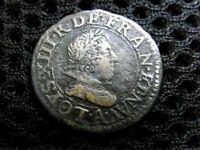 ROYALE/ LOUIS XIII 1640-1643. DOUBLE TOURNOIS. 1626. PARIS.