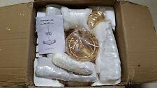 New Toh Adenbo Luxury Gold Led 45cm Crystal Chandelier Ceiling Light Adb928 Deal