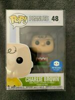 Funko POP! Peanuts Charlie Brown #48 Pop in a Box Exclusive Ltd  Rare, Red Shirt