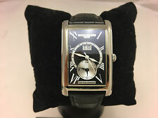 Frederique Constant Classics Carree Dual time Big date Black Dial FC-325BS4C26