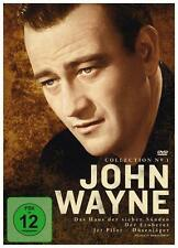 John Wayne Box/ Das Haus der sieben Sünden, Jet Pilot - Düsenjäger, Der Eroberer
