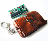 IC 2262/2272 4 CH Key Wireless Remote Control 315MHZ Receiver module Arduino new