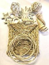 All Natural  DIY bird toy parrot toys vine,  toy making pack. seagrass busy mat,