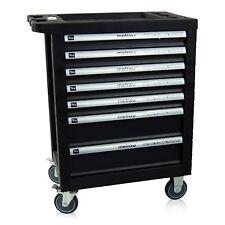 Werkstattwagen in schwarz mit 7 Schubladen, Werkzeugwagen von Metra