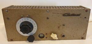 Rare Tuner à lampes Gaillard FM 57