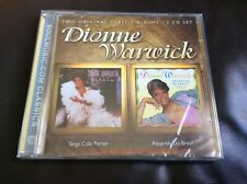 DIONNE WARWICK TWO CLASSIC ALBUMS  2 CD SET NEW AND SEALED C1