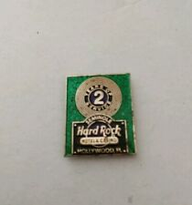 Vintage Hardrock Cafe Seminole Hollywood Florida 2 Years of Service Magnet