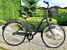 "28"" City Bike Ladies Town Hybrid Dutch Vintage Women Cycle With Basket NO LOGO"