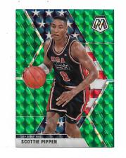New ListingScottie Pippen 2019/2020 Mosaic Usa Basketball Green Mosaic Prizm #256 $20.00 !