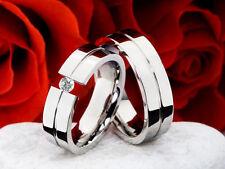 Unisex Echtschmuck mit Diamant Ringe