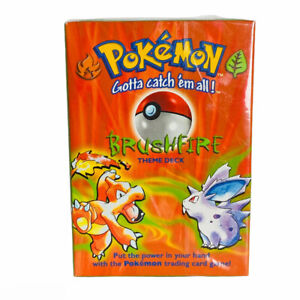 Pokemon Vintage 1999 Brushfire Theme Deck Trading Card Game Sealed Wizards Coast