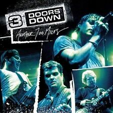 "NEW CD 3 DOORS DOWN ""Another 700 Miles"" Live CD When I'm Gone, Here Without You"