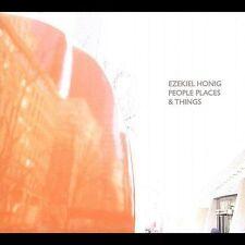 People Places & Things [Digipak] by Ezekiel Honig (CD) UNPLAYED