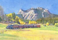 boat /& horses Allegheny Portage RR 1840s train Staple Bend Tunnel Art Prints