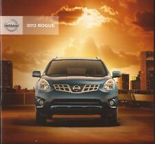 2012 12  Nissan Rogue  original sales brochure