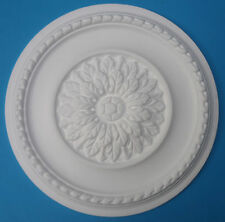 "Ceiling Rose - Polystyrene - ' Eternal Leaf ' - Size 420mm (16 1/2"")"