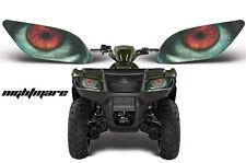 Headlight Eye Graphics Kit Decal Cover For Suzuki KingQuad 2005-2013 NIGHTMARE
