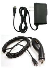 Car+Wall Charger for Consumer Cellular Huawei 8800, U8652, MetroPCS Huawei Verge