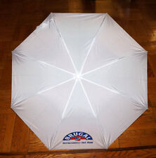 BRUGAL RUM UMBRELLA Promotional PROMO Rain Umbrella White Blue Company Bar New