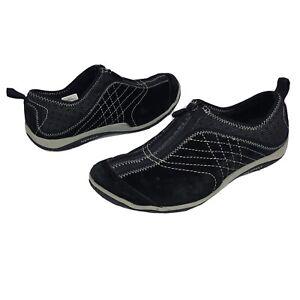Merrell Lorelei Leather Zip Shoes in Black Womens Size 7