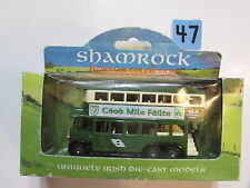 SHAMROCK HERITAGE COLLECTION 1931 AEC RENOWN DOUBLE DECK BUS MADE IN ENGLAND