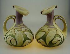 A Wonderful Pair of Paul Dachsel Design Art Nouveau Lily Pitcher Vase RSTK c1900