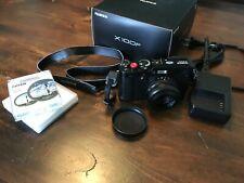 Fuji X100F 24.3MP Rangefinder Style Camera — Black, Excellent Condition, Extras