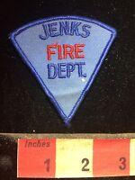 Vtg JENKS FIRE DEPT. Fire Patch - Fireman Firefighter C75O