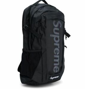SUPREME Backpack Red Camo Black cordura box logo S/S 21