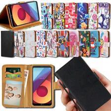 FLIP Portafoglio DI PELLE SMART STAND COVER per vari smartphone serie LG X