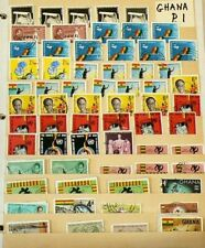 Ghana Stamps Lot of over 180 Cancelled #6202