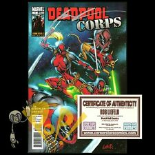 DEADPOOL CORPS #1 Signed by ROB LIEFLED 1st Print MARVEL Comics 2010 NM!