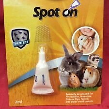 Spot On Protect Treatment Flea Tick Lice Rabbit Guinea Pig Helps Fly Strike