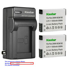Kastar Battery Wall Charger for Panasonic DMW-BCM13 & Panasonic Lumix DMC-ZS50
