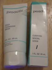 Proactiv Lot 2~Proactiv Deep Cleansing Wash 3oz + Clarifying Mineral Serum 1 oz