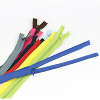 "10pcs 11"" Multicolor Nylon Zips Zippers Closed End Craft DIY Sewing Tailor Tools"