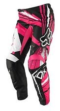 Fox Racing Womens 180 Undertow Pants Black/Pink size 3/4