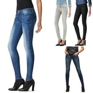 G-Star 3301 Low Waist Super Skinny Damen Jeans Hose Jeanshose Röhrenjeans
