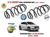 FOR CITROEN DS4 1.6 HDI 90 110 115 DIESEL 2009 >NEW 2 X FRONT COIL SPRINGS SET