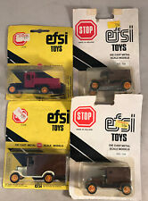 EFSI Toys No.105 1919 T Ford Car bundle x4- New Sealed on card