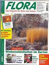 Garten-Zeitschrift: FLORA  - Das Magazin für Haus und Garten 1/95 Hydropflanzen